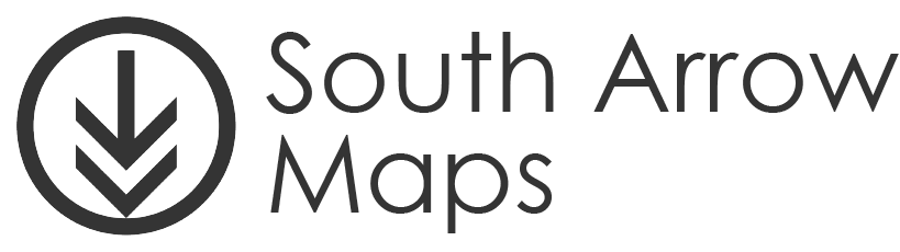 South Arrow Maps
