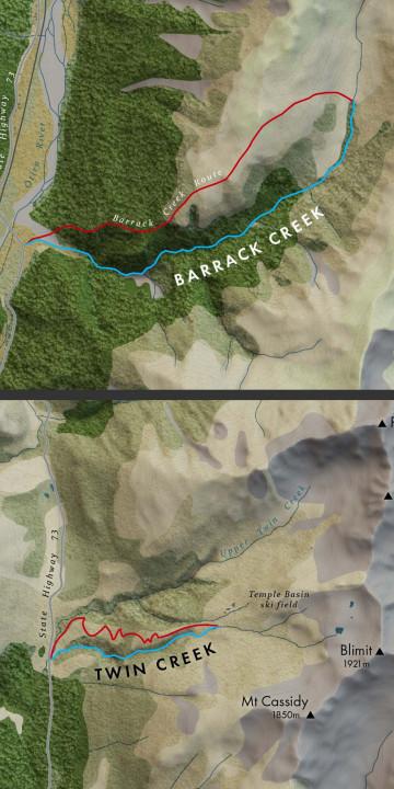 Arthur's Pass Canyons
